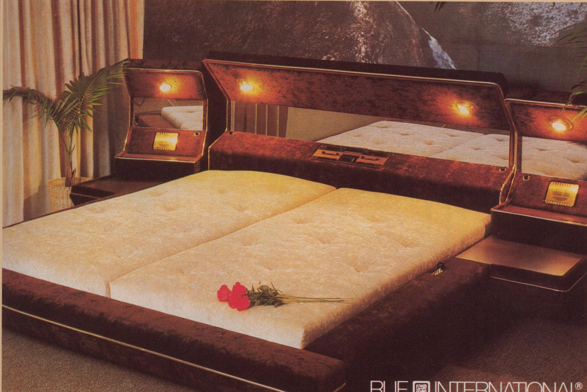 Quite possibly the most vulgar bedroom. Vulgar times at the ranch   Jess Perriam